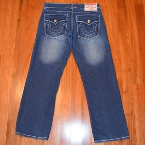 True Religion Ricky Giant Big T jeans 38 x 33